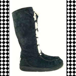 UGG Uptown Suede Leather Winter Boots